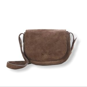 Elizabeth and James Zoe brown leather bag